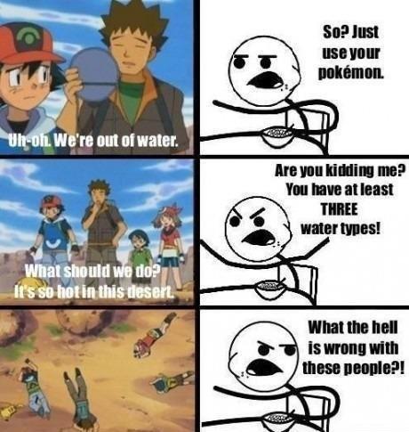 Y U NO USE UR POKEMON   Y U No Pokemon