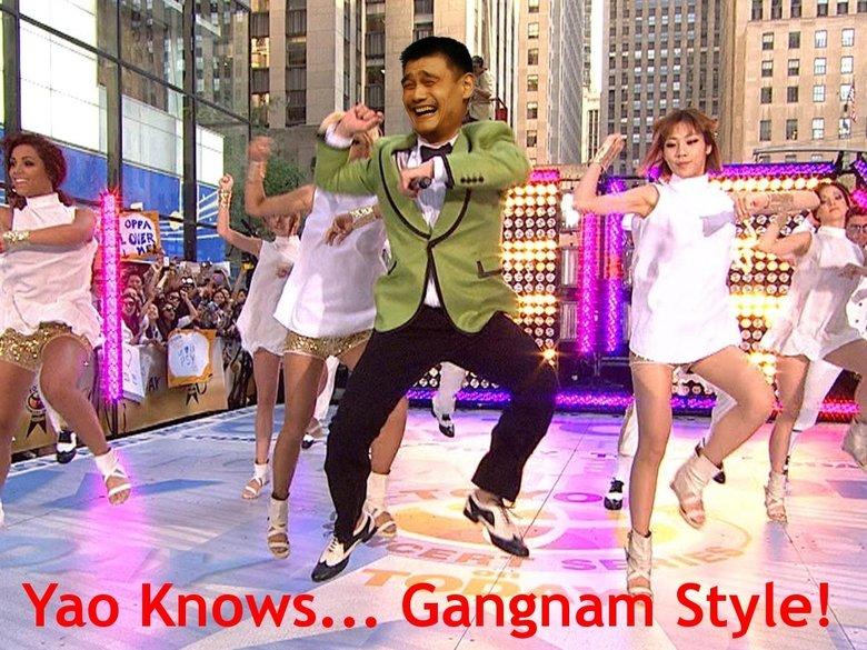 Yao Knows... Gangnam Style!. Yao Knows Gangnam Style!.