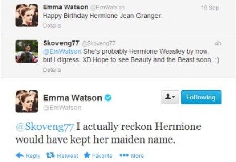 Yeah!. . an manner Jean Granger She' s pin Hemline Weasley we not but I duress. In Beauty and the Beast seen. J r' ilia' Emma Watson we I actually reckon Hermio