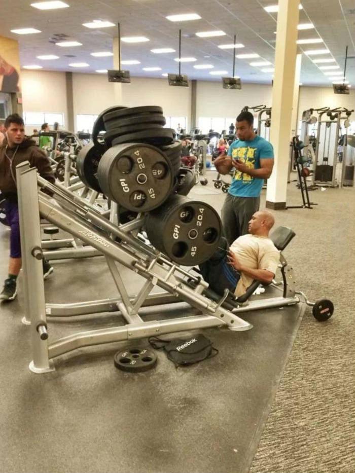 yes i lift. [liftingintensifies].. never miss leg day description