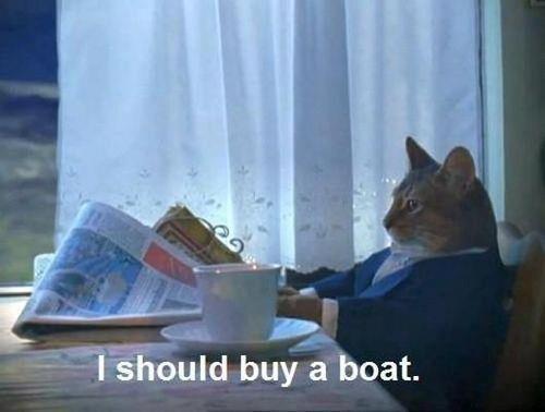 Yes you should. Hi. r . hi buy tit' boat.