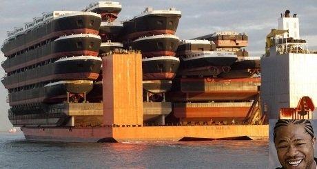 Yo Dawg I heard You Like Ships.... ...dawg.. If that's a boat boats, than what does a boat boat boat look like? You dawg meme