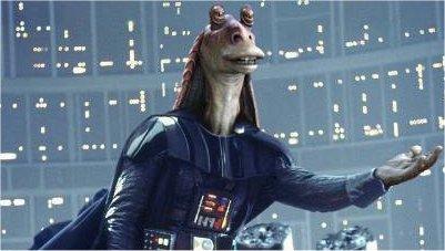 #YOJO. You Only Jar Jar Once.. YOJJO is worse then YOLO. Luke I am Your J