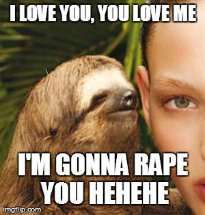 You dirty sloth (5). anal. hrrngg