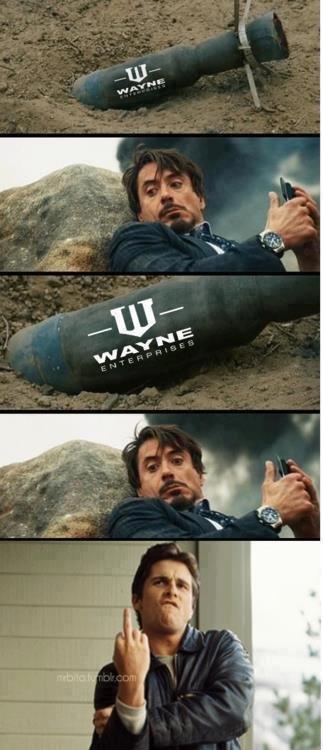 You gon' get it now. .. fix'd! tony stark bruce