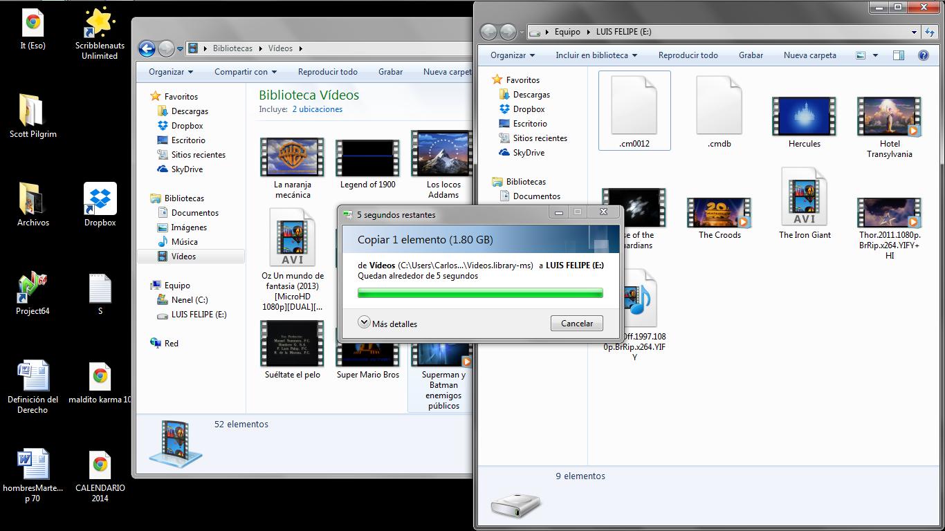 You liar.... I have 30 minutes with this 5 seconds.. E F F Videos F - Organizer _ Include en biblioteca _ Erebor Nueva carpeta Organizer _ Compacter con _ Erebo