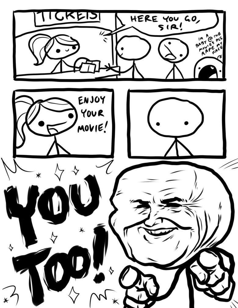 You too!. .. >at the Batman premier