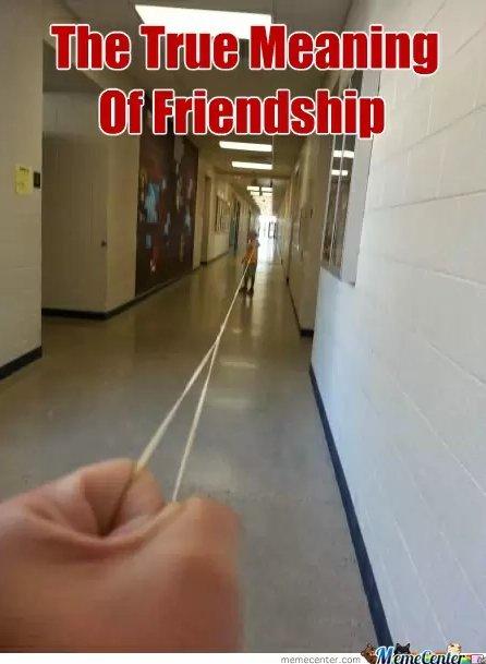 You trust me I trust you. . trust friend