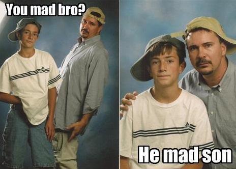 You Mad. . p, mad brag: