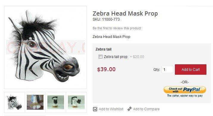 zebra mask. zebra mask at http://www.horseheadcostume. com/zebra-head-mask/. zebra mask zebra head mask