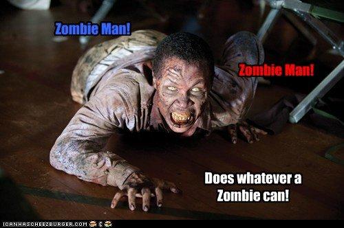 Zombie Man. Zombie ManZombie Man.