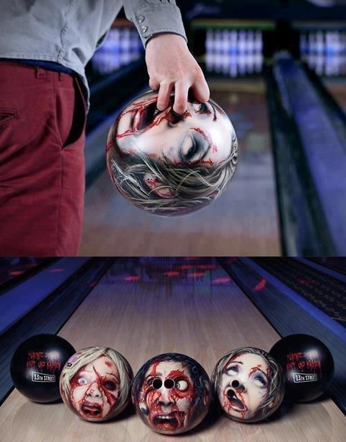 Zombie Bowling Balls. I want I want I want.
