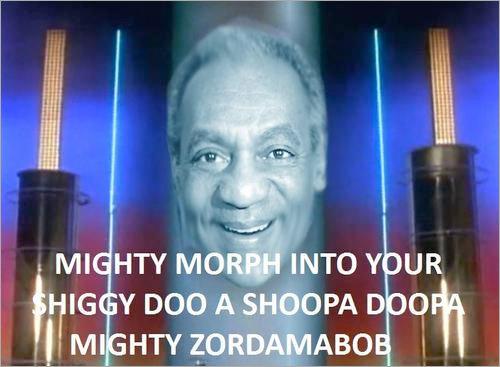 Zordon Cosby. shibbity bibbity.. Tyrannosaurus, Triceratops, FRIED CHICKEN!