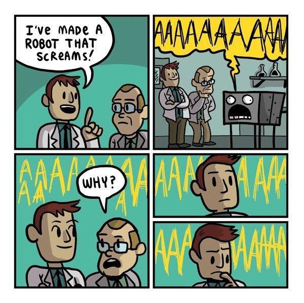 AAAAAAARGH!. . ROBOT
