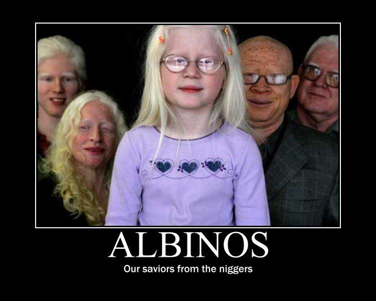 Albinos. .. looks like twilight