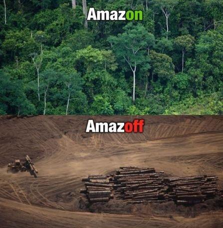 Amazon. Amazoff.