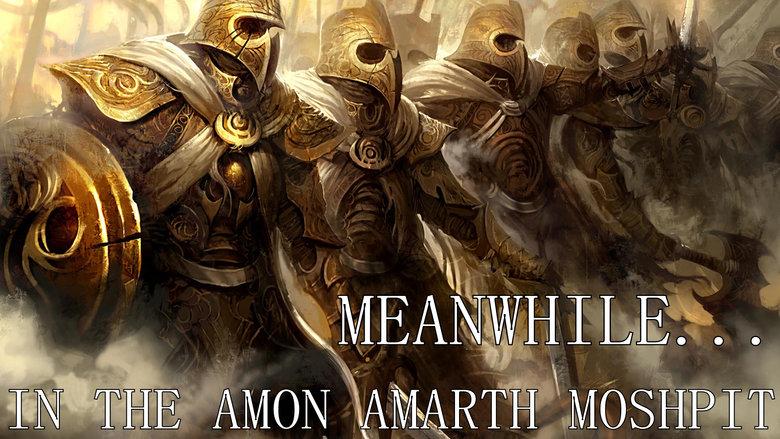 Amon Amarth. .. Blank template/ free wallpaper.
