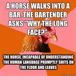 Anti-Joke Chicken. . mm ll m MI HRH Mi ITS M THE ' Mill [ERNIE
