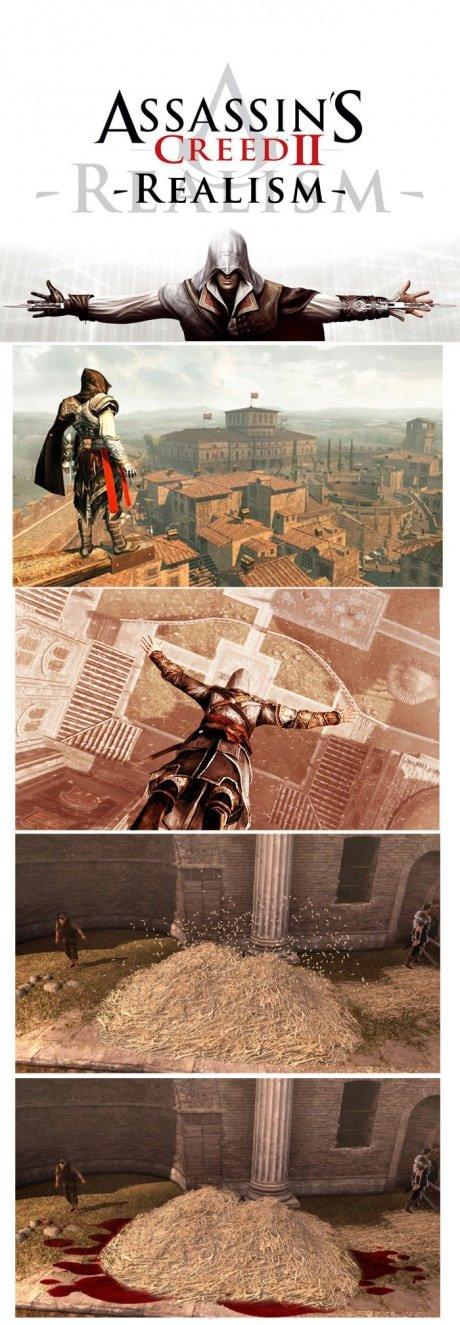 Assasin's Creed Realism. . CRA; 13011