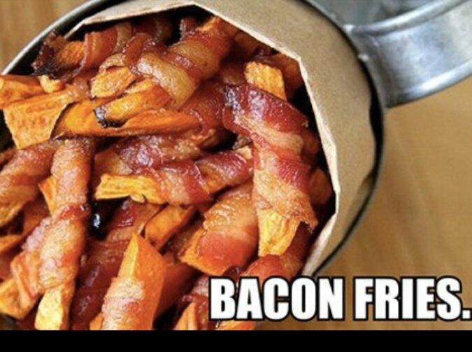 baaaacon ^.^. .. yay i love bacon