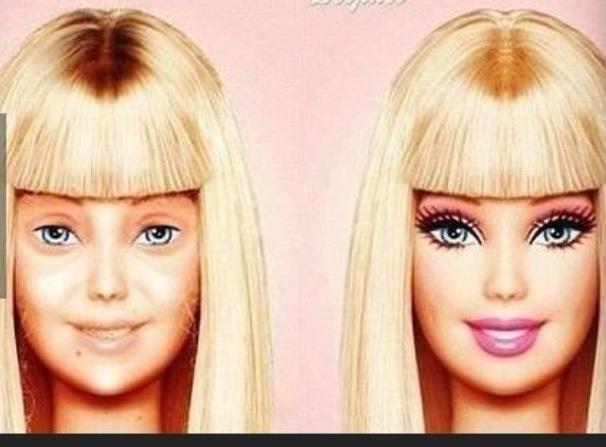 Barbie. She has problems too.. MFW.