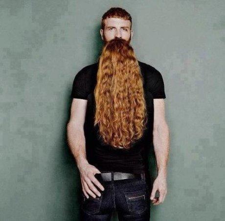 Beard Illusion. Not mine, just sharin'... Huehuehue