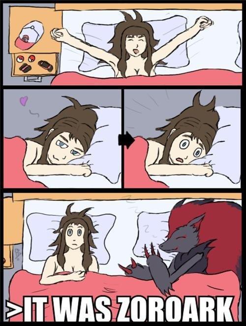 Bed. Waht a twist.