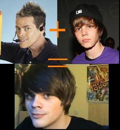 Bieber Shamwow child. this guy is definitely their child.. problem?