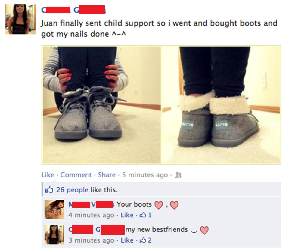 bitches on facebook. .. y u gotta breed? WHY ?