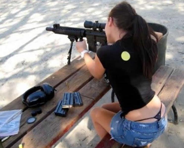 Bitches and guns. because bitches like guns.. me 2 bro, i like guns to, im a expert