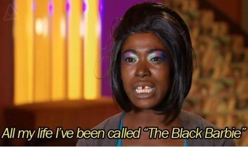 "Black Barbie. . All my Me We been called ""The Black Barbie"". Nicki Minaj?"