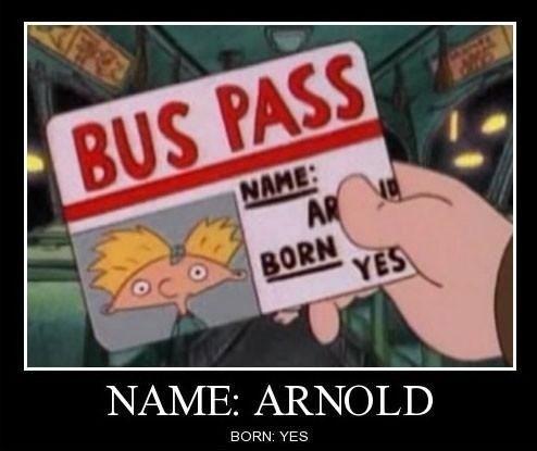 Bus Pass. .