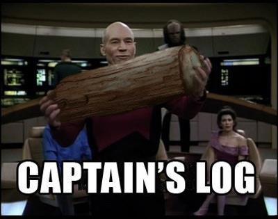 Captain's Log. Like us. Cause everybody likes random funny in their Facebook Newsfeed... facebook.com/hollywoodleek.. <----- Star Date.