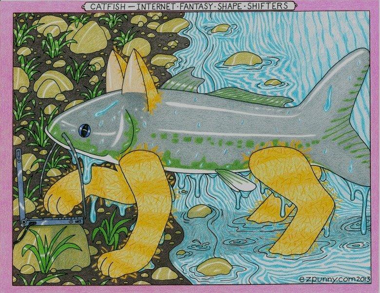 Catfish. Catfish de cyber.. swan
