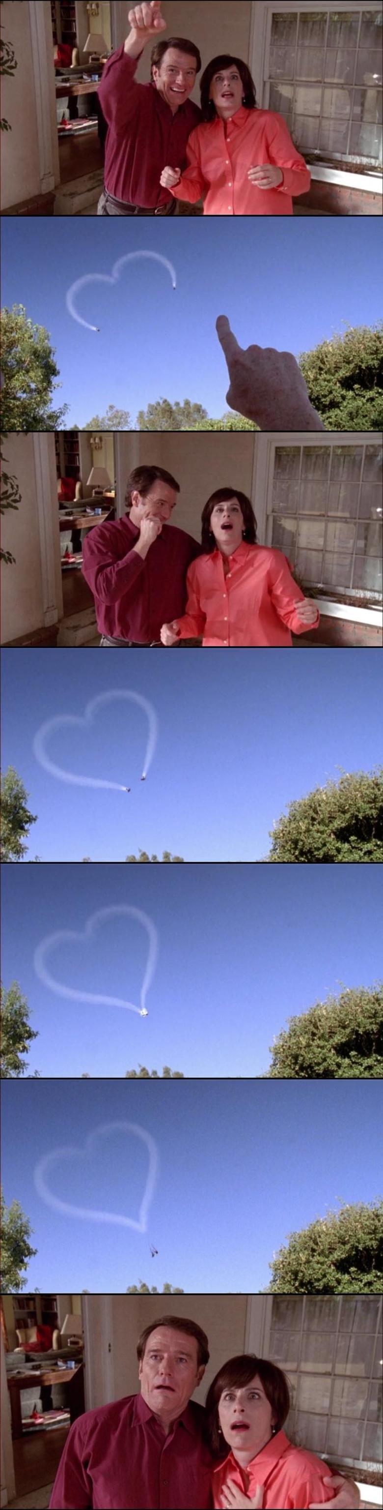 Coincidence?. Walt was no stranger to causing plane crashes.
