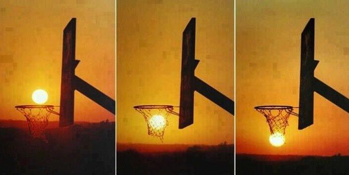 cool ass sunset. .