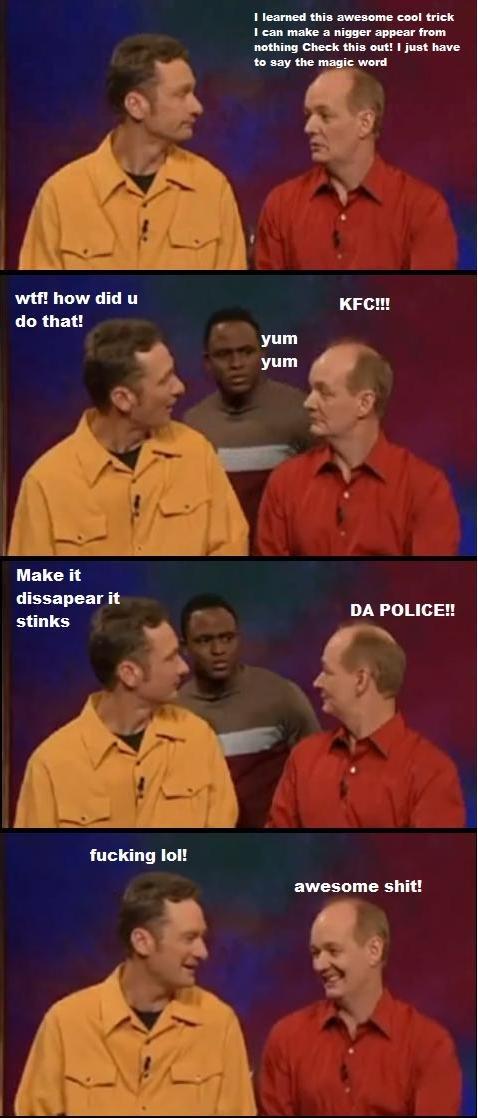 "cool magic trick. lol. mutt! how did LI ""FE!!! Make it dissapear it stinks DA aii; lei! awesome !. Whose Line is win :D"
