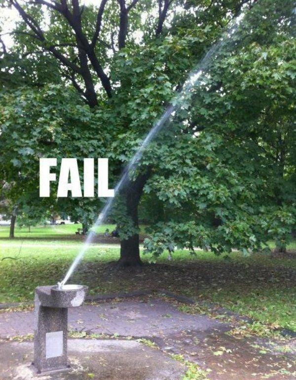 crazy fountain. .. i came xP