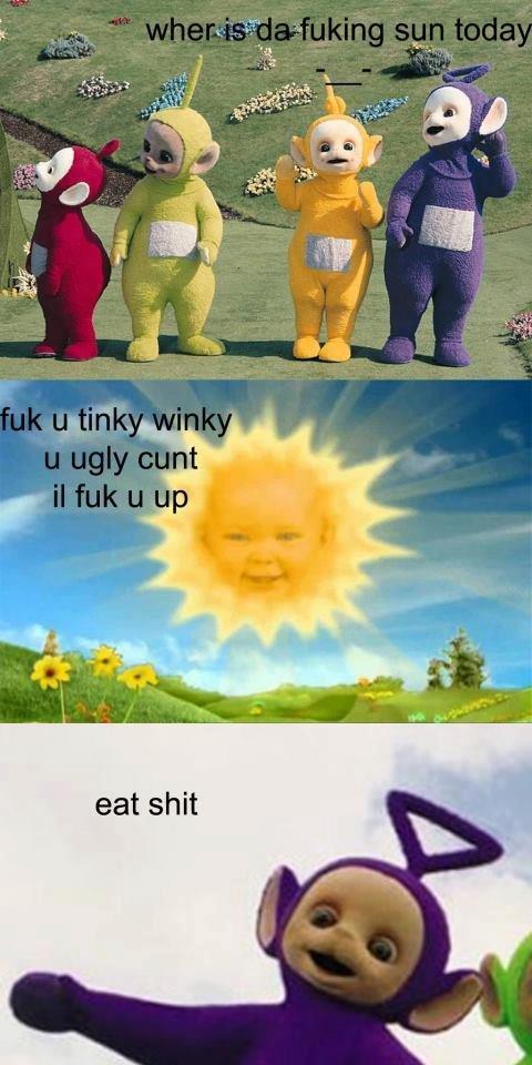 da fuking sun. fuk mane.