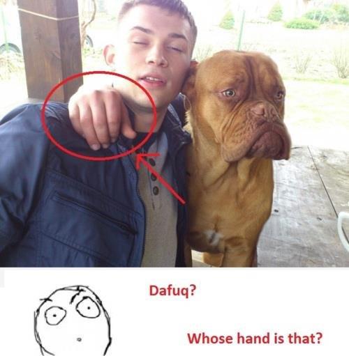 da fuq?. . Dafuq? Whose hand is that?