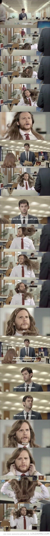 da hair tho. .
