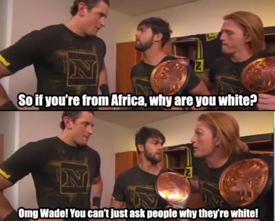Dammit Wade. lul .