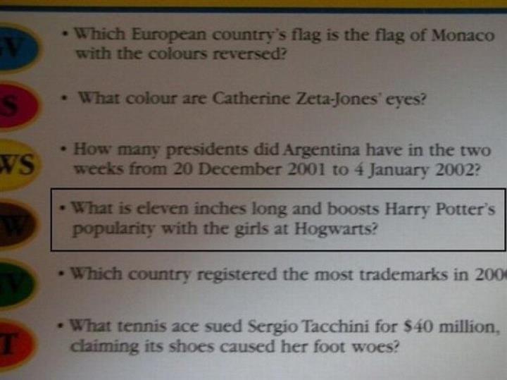 Damn Harry. .. ron knows....