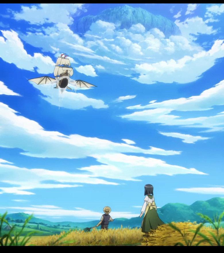 Dangereous Horizon. I think this is beautiful....and kinda scary. Enlarge, cause it's HUGE! Anime: Zero No Tsukaima (season 1)... season 2