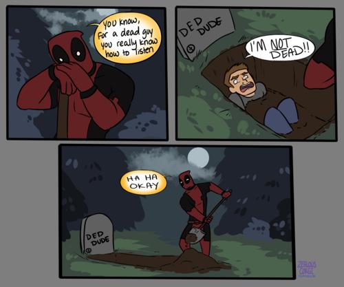 Deadpool. .. >Deadpool Content