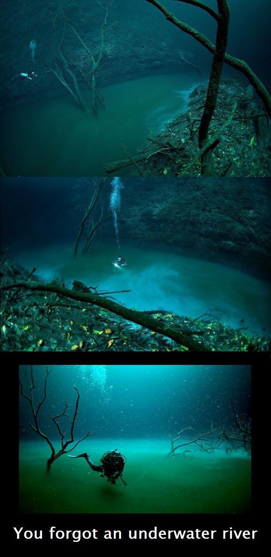 Dear God, I would like to report a bug.. psst... H2S. You forgot an underwater river. He found bikini bottom.