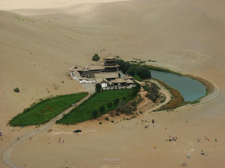 desert temple. .