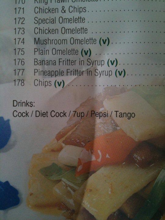 diet what?. true story bro. It' ll 171 172 173 174 175 177 178 Drinks:. Diet Cock - so OP doesn't get fat.