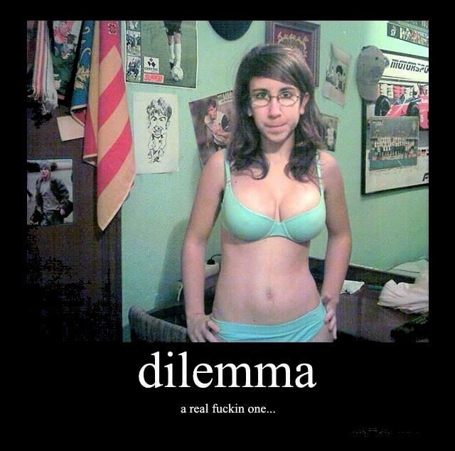 dilemma. . a real DRE.... fix'd
