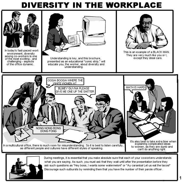 Diversity. Credits to original creator..